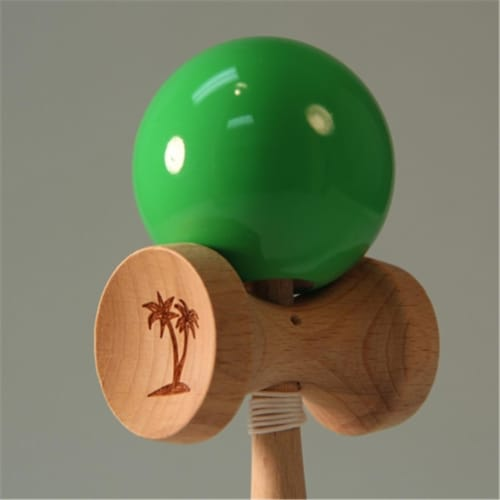 Bahama Kendama BKBMN-LBL Solid Color Kendama, Light Blue Perspective: front