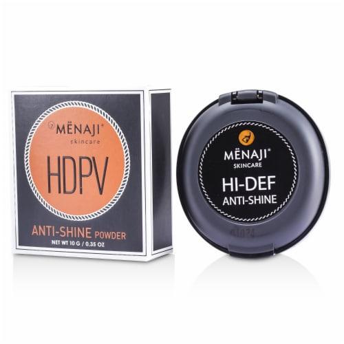 MENAJI  High Definition Powder Vision Anti-Shine Powder Light Perspective: front