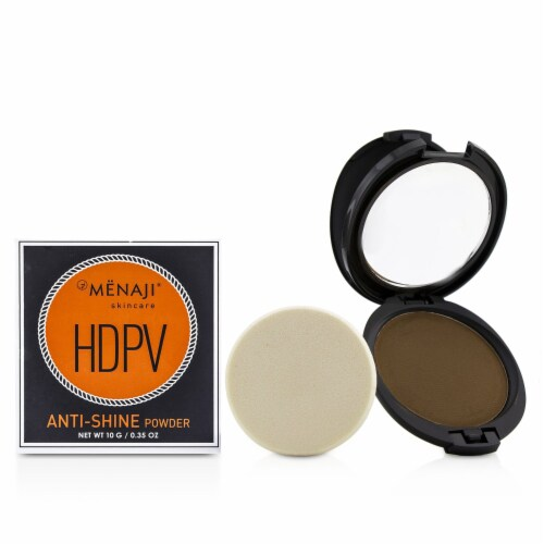Menaji HDPV AntiShine Powder  D (Dark) 10g/0.35oz Perspective: front