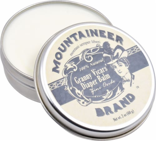 Mountaineer Brand  Granny Vicars' Diaper Balm Perspective: front