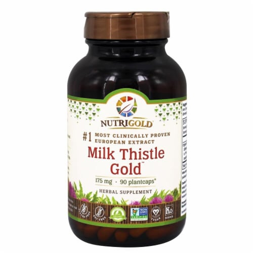 NutriGold  Milk Thistle Gold™ Perspective: front