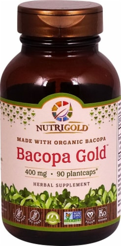 NutriGold  Bacopa Gold™ Perspective: front