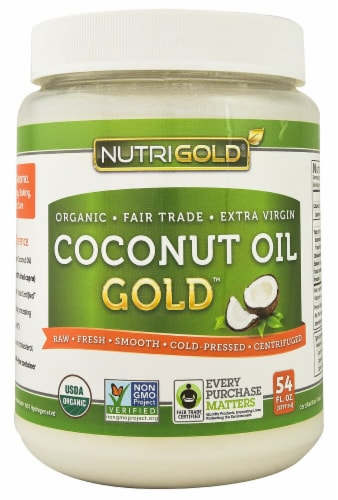 NutriGold  Coconut Oil Gold™ Perspective: front