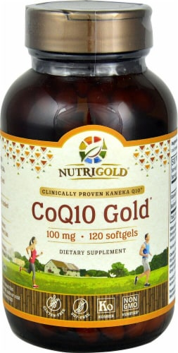 NutriGold  CoQ10 Gold® Perspective: front