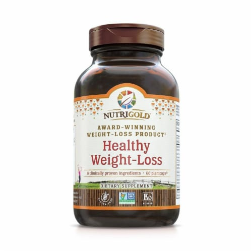 NutriGold  Healthy Weight-Loss Dietary Supplement Perspective: front