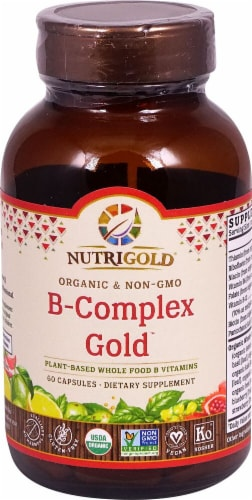 NutriGold  B-Complex Gold™ Perspective: front