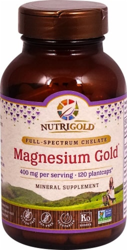 NutriGold  Magnesium Gold® Perspective: front