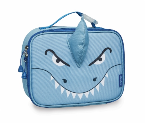 Bixbee Animal Pack Shark Lunchbox Perspective: front