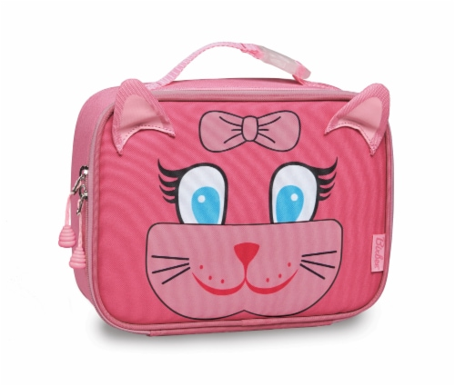 Bixbee Animal Pack Kitty Lunchbox Perspective: front