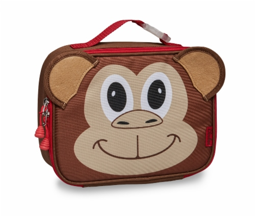 Bixbee Animal Pack Monkey Lunchbox Perspective: front