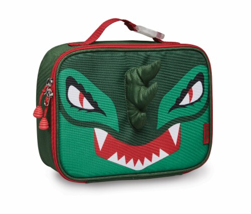 Bixbee Animal Pack Dino Lunchbox Perspective: front