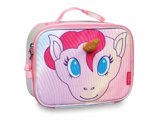 Bixbee Animal Pack Unicorn Lunchbox Perspective: front