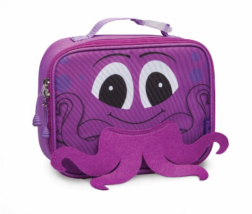 Bixbee Animal Pack Octopus Lunchbox Perspective: front
