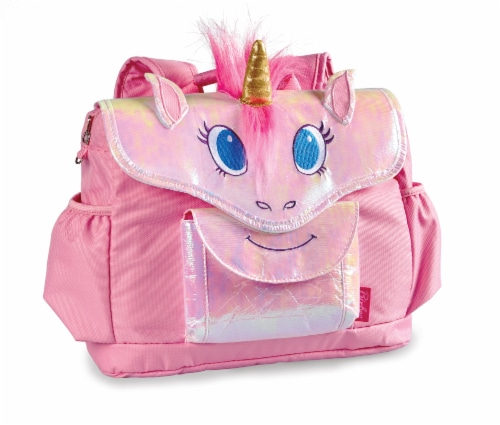 Bixbee Animal Pack Small Unicorn Backpack Perspective: front