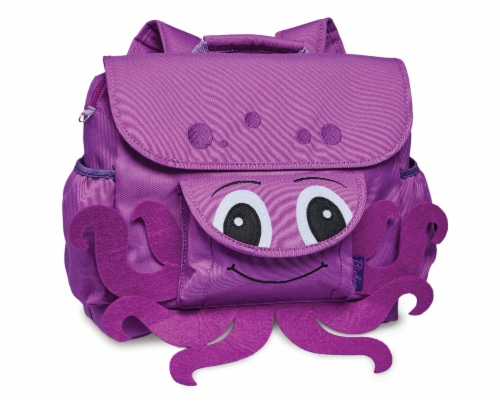 Bixbee Animal Pack Small Octopus Backpack Perspective: front