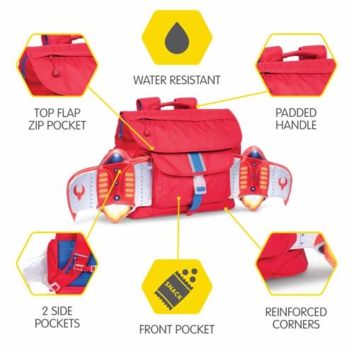 Bixbee Medium Firebird Flyer Backpack Perspective: front