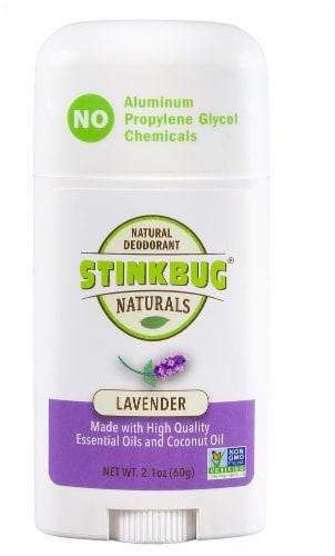 Stinkbug Naturals Lavender Deodorant Perspective: front