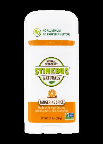 Stinkbug Naturals Tangerine Spice Natural Deodorant Perspective: front