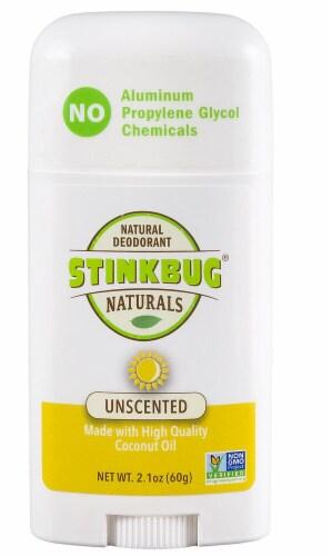 Stinkbug Naturals Unscented Natural Deodorant Perspective: front