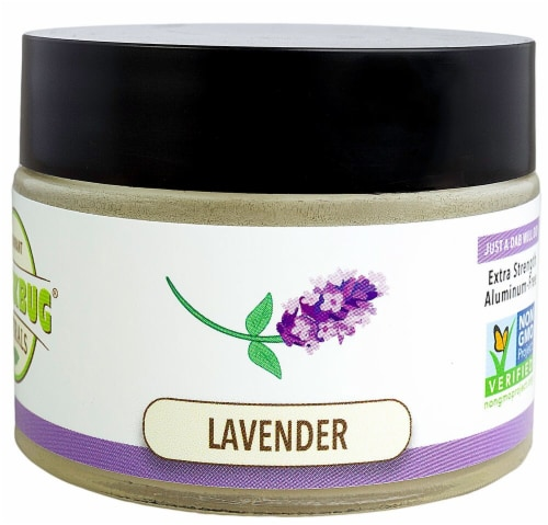 Stinkbug Naturals  Natural Deodorant Cream  - Lavender Perspective: front
