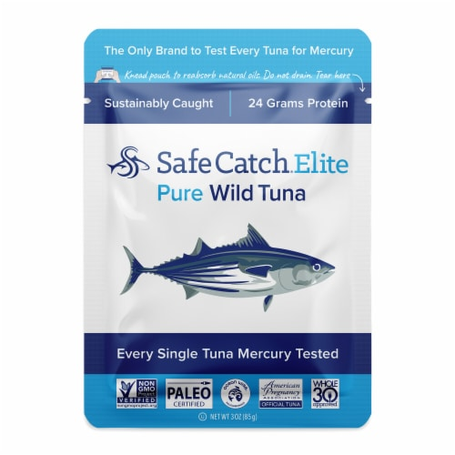 Safe Catch Elite Wild Tuna Perspective: front