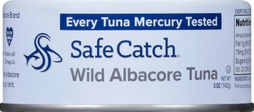 Safe Catch Wild Albacore Tuna Perspective: front