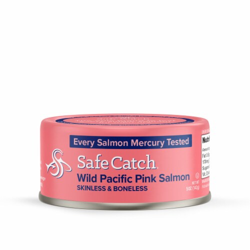 Safe Catch Pacific Wild Pink Salmon Perspective: front