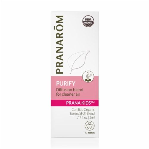 Pranarom Prana Kids Purify Essential Oil Diffusion Blend Perspective: front