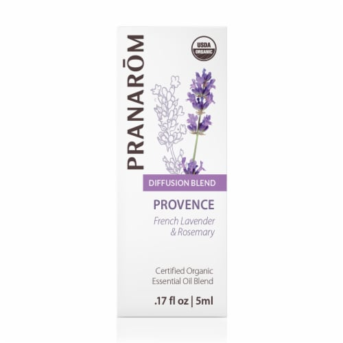 Pranarom Provence Essential Oil Diffusion Blend Perspective: front