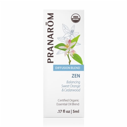 Pranarom Zen Essential Oil Diffusion Blend Perspective: front