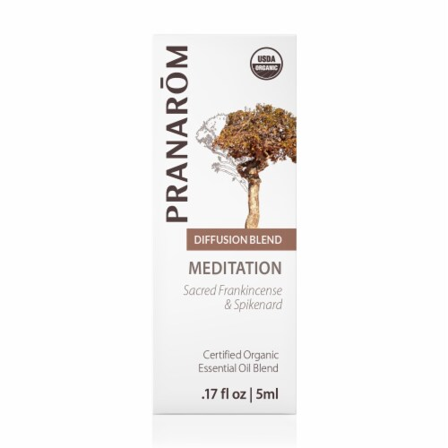 Pranarom Meditation Essential Oil Diffusion Blend Perspective: front