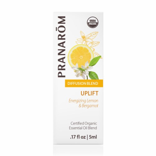 Pranarom Uplift Essential Oil Diffusion Blend Perspective: front