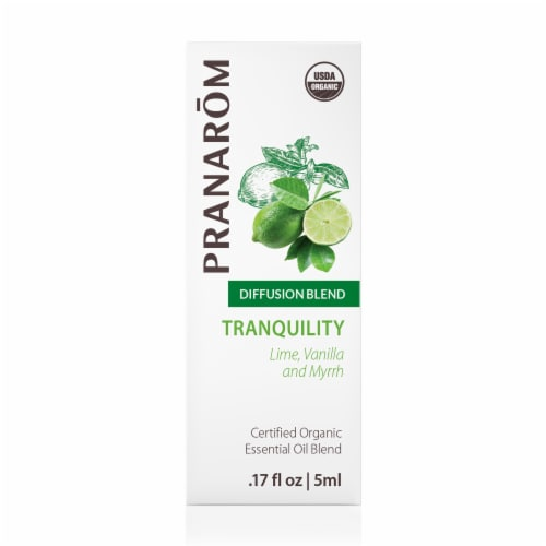 Pranarom Tranquility Essential Oil Diffusion Blend Perspective: front