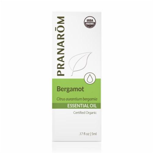 Pranarom Bergamot Essential Oil Perspective: front