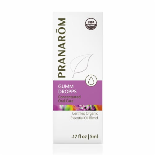 Pranarom Gumm Dropps Essential Oil Blend Perspective: front