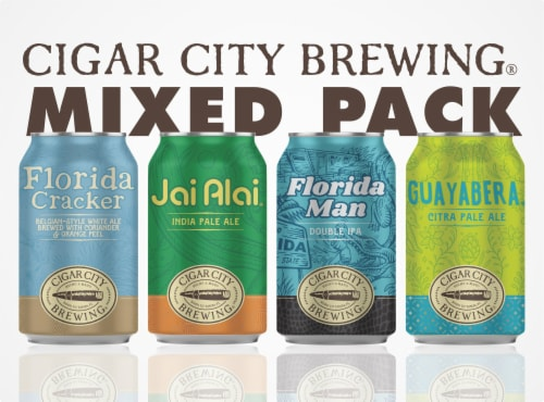 Cigar City Brewing Variety Pack Perspective: front