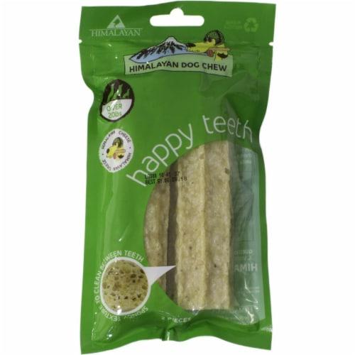 Himalayan Pet  Happy Teeth Himalayan Cheese Dental Chew Perspective: front