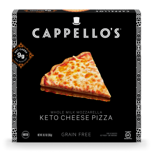 Cappello's® Keto Cheese Pizza Perspective: front