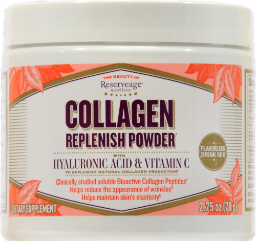 Reserveage Organics Collagen Replenish Powder Perspective: front