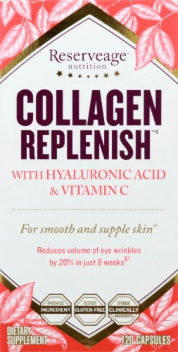 Reserveage Collagen Replenish Capsules Perspective: front
