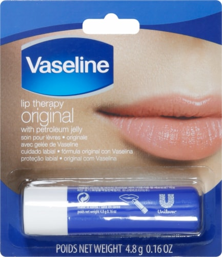Vaseline Original Lip Therapy Perspective: front