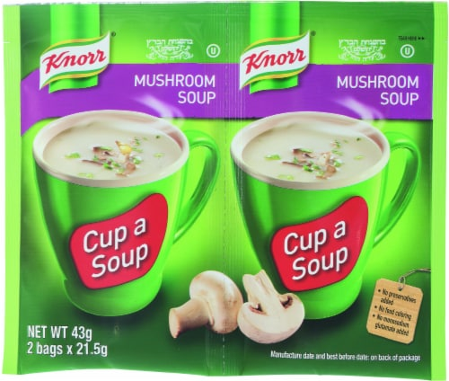 Knorr Mushroom Soup Packets Perspective: front