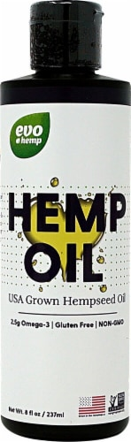 Evo Hemp Hemp Oil Perspective: front