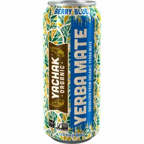 Yachak Organic Berry Blue Yerba Mate Perspective: front
