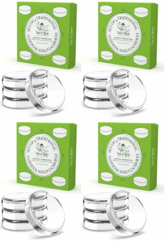 Year of Plenty Fermentation Weights   16-Pack   for Wide Mouth Mason Jars Perspective: front