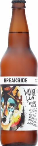 Breakside Brewery Wanderlust India Pale Ale Perspective: front
