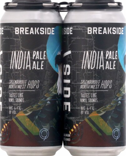 Breakside Brewery India Pale Ale Perspective: front