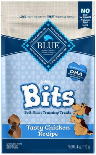 Blue Buffalo Bits Tasty Chicken Recipe Soft-Moist Training Treats Perspective: front