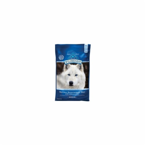 Blue Buffalo Blue Wilderness Chicken Dry Dog Food Grain Free 24 lb. - Case Of: 1; Perspective: front