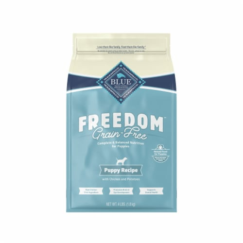 Blue Buffalo Freedom Puppy Recipe Dog Food Perspective: front